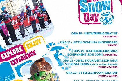 World Snow Day la Vatra Dornei