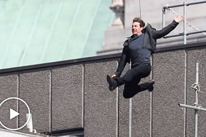Tom Cruise, rănit la filmările Misiune Imposibilă 6 - Video - Tom Cruise ranit la filmarile Mission Impossible 6 - foto Mega