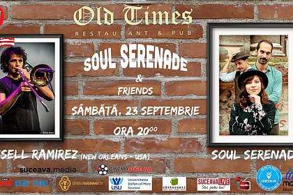 Soul Serenade & Russell Ramirez canta la Old Times Suceava